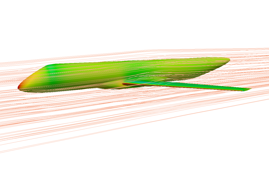 EARSM turbulent model, Mach number 0.78